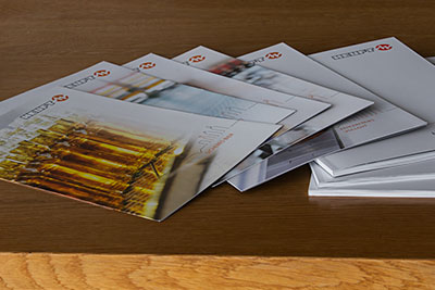 Brochures, flyers and newsletters