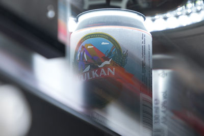 Safe beverage cans filled without faults