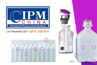 Vial- und Blow-Fill-Seal-Behälterinspektion auf der CIPM