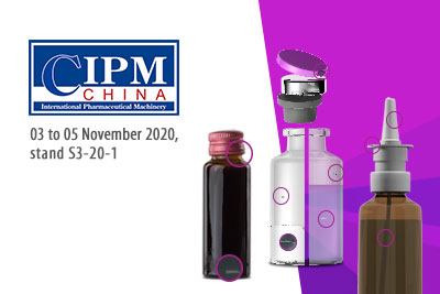 Vial and nasal spray nozzle inspection at CIPM 2020