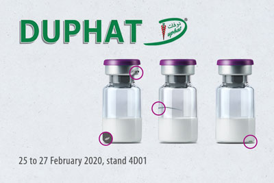 DUPHAT 2020:  full vial inspection with new function!