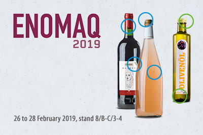 ENOMAQ 2019:  pure wine in perfect bottles