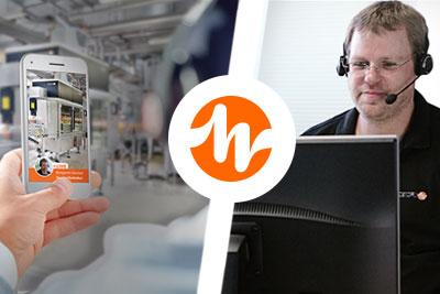 App sofort erhältlich: Fernservice mit Live-Bildern!