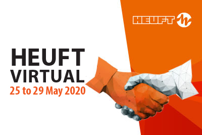 HEUFT VIRTUAL 2020:  exhibition visit with full safety distance!