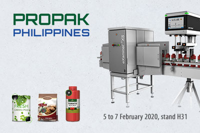 Foreign object inspection:  ProPak Philippines – debut of new turnkey solution