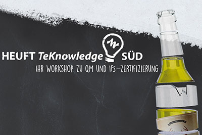 Nicht verpassen: HEUFT-Workshop für Getränkeabfüller startet schon bald!