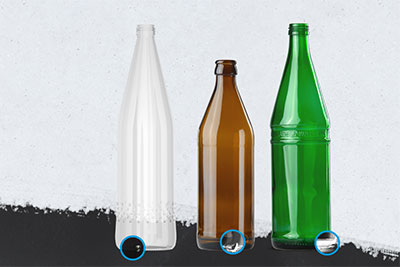Why X-ray empty bottles?